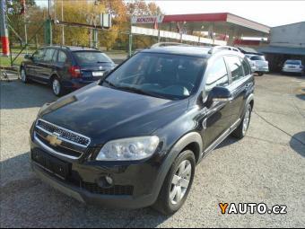 Prodám Chevrolet Captiva 2,4 i, LPG, 4x4,7míst, 1. maj.