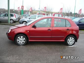 Prodám Škoda Fabia 1.2i 1. majitel, serviska