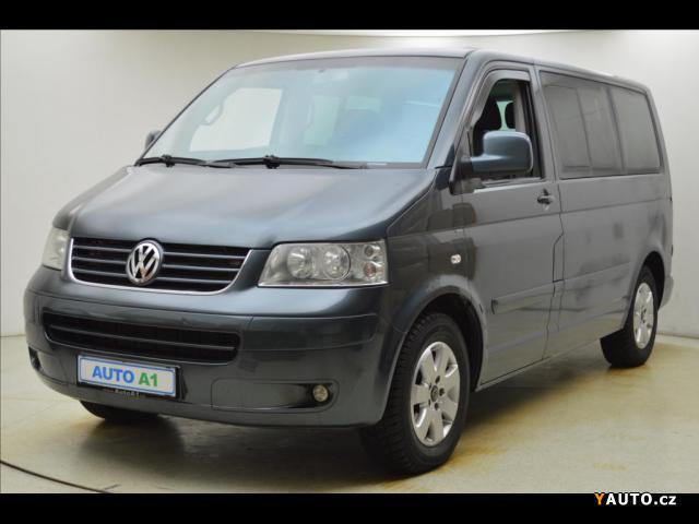 Prodám Volkswagen Multivan 2,5 TDi 96kW VÝHŘEV KLIMA