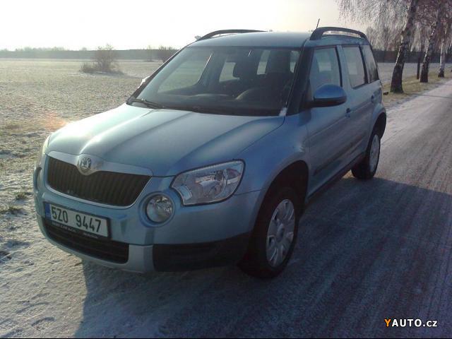 Prodám Škoda Yeti 2,0 YETI TDI CR DPF 4X4 ELE