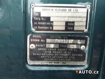 Prodám Triumph Leyland Spitfire 1.5L + hartop