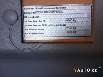 Prodám Multicar 3.0tdi Rexter 4x4, ZADANO