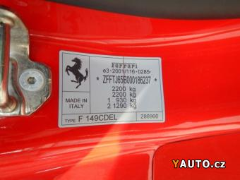 Prodám Ferrari California F 149, 4.3i