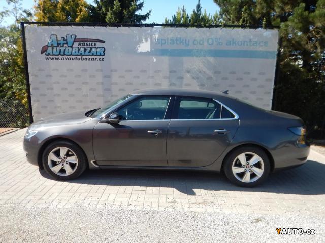 Prodám Saab 9-5 2.0 TTiD, 140 kW, KŮŽE