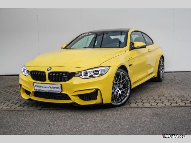 prod m bmw m4 coupe individual dakar yellow prodej bmw m4 osobn auta. Black Bedroom Furniture Sets. Home Design Ideas