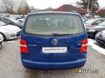 Prodám Volkswagen Touran 1.9 TDI, serviska