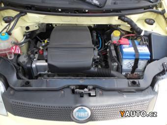 Prodám Fiat Panda 1,1i 40kW KLIMA, SERVO, ABS