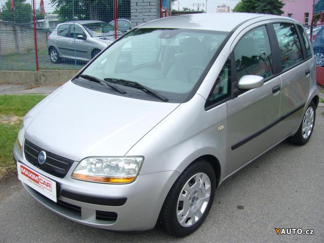 Prodám Fiat Idea 1.2 i klima, serviska