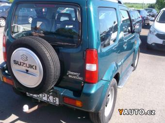 Prodám Suzuki Jimny 1.3 16V Special