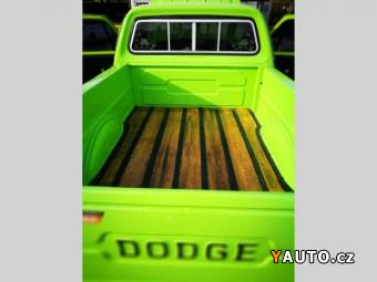 Prodám Dodge D100-PICK-UP-V8-vet. SPZ-SUPER