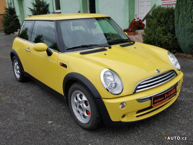 Prodám Mini Cooper 1,6i SERVISKA, STK