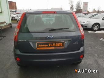 Prodám Ford Fiesta 1,25i, 1maj., 93tkm, servis, STK