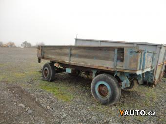 Prodám  Přívěs za traktor bez SPZ 5t