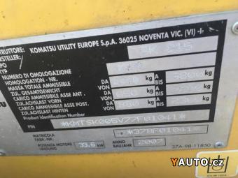 Prodám Komatsu Smykový nakladač SK815