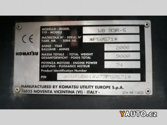 Prodám Komatsu WB 93 R-5