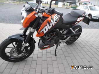 Prodám KTM 125 Duke
