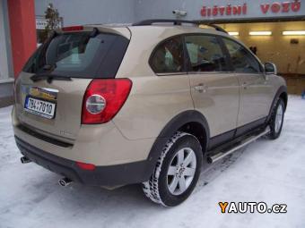 Prodám Chevrolet Captiva 2,4 LS