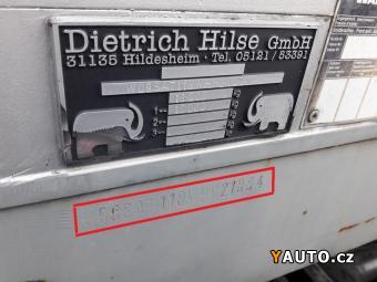 Prodám Schwarzmüller HILSE PODVALNÍK JEDNOOSÝ 18T