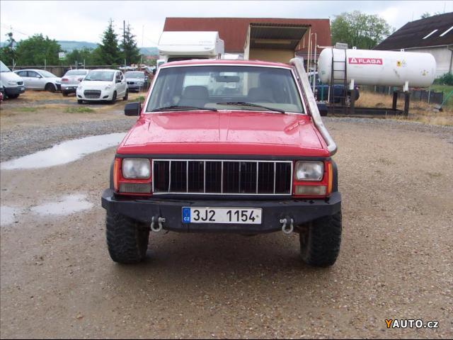 Prodám Jeep Cherokee 4,0 LPG 4X4 EKO zaplaceno