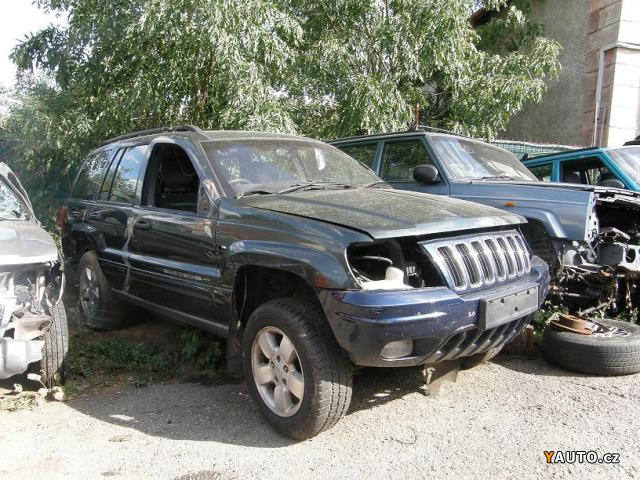 Prodám Jeep Grand Cherokee 3, 1 TD