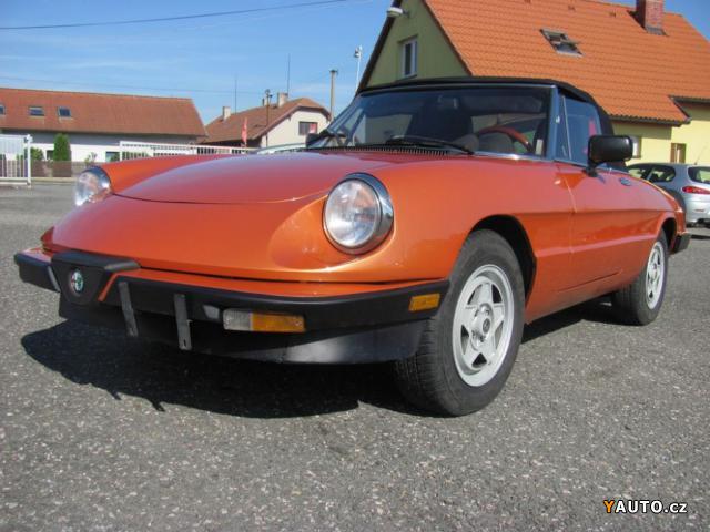 Prodám Alfa Romeo Spider 2,0i