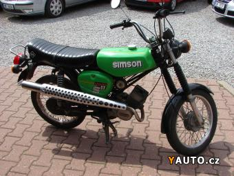 Prodám Simson Simson S 51 STK6, 2019