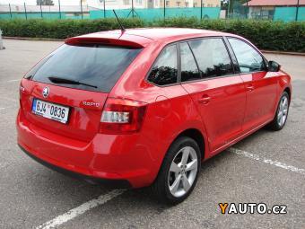 Prodám Škoda Rapid 1.2 TSI SERVISKA