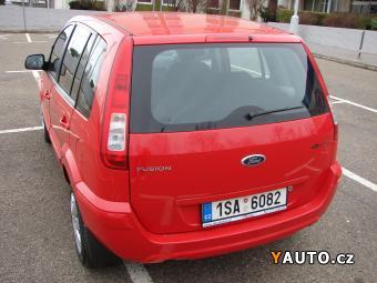 Prodám Ford Fusion 1.4i 1. Maj. serv. kníž. Koup. ČR