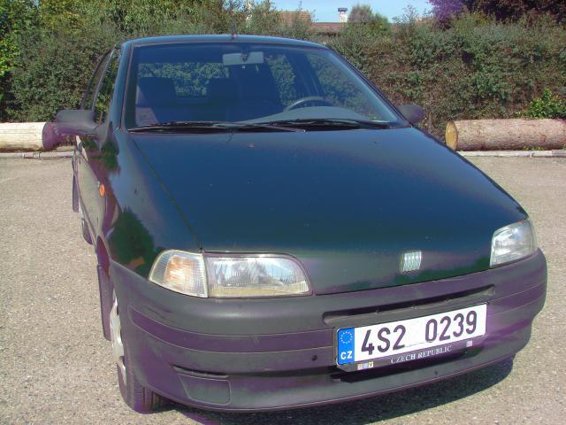 Prodám Fiat Punto 1.1i Koupeno v ČR