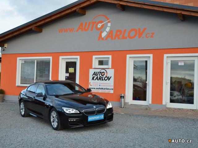 Prodám BMW Řada 6 640d xDrive GC, M-Paket, ČR