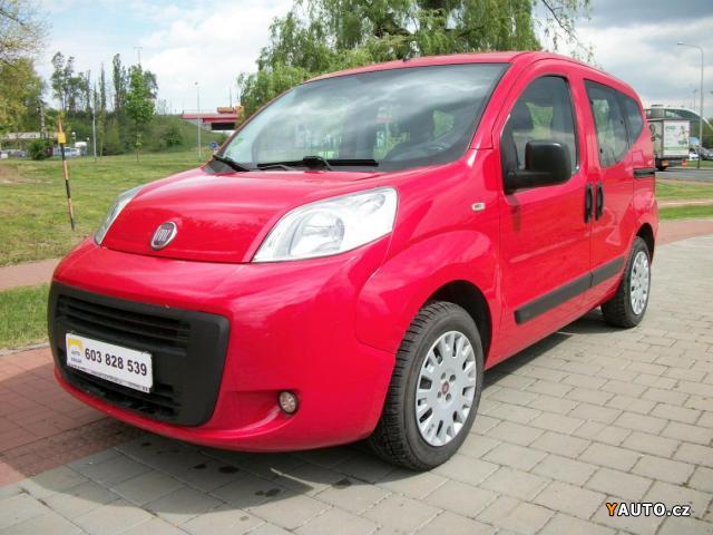 Prodám Fiat Qubo Qubo 1.4 i LPG