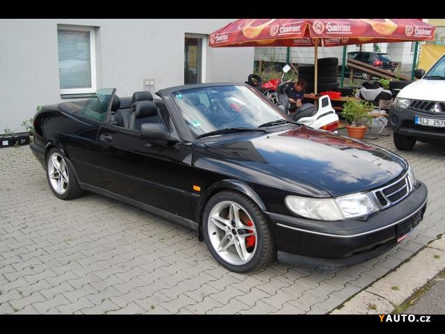 Prodám Saab 900 Cabrio