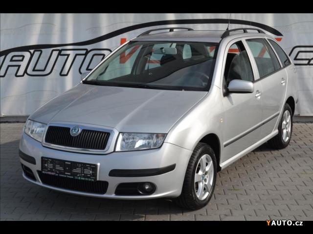 Prodám Škoda Fabia 1,4 16V*KLIMA*SENZORY*CENTRÁL*
