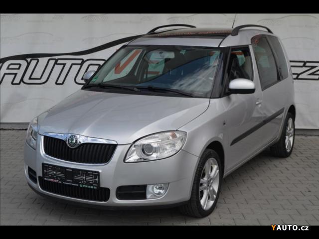 Prodám Škoda Roomster 1,9 TDi*PANORAMA*KLIMA*VYHŘ. SE