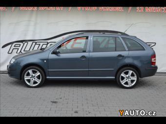 Prodám Škoda Fabia 1,9 TDi*XENON*NAVI*VYHŘ. SEDAČK