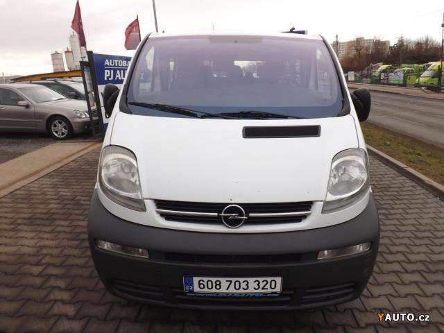 prod m opel vivaro 2 5 cdti 99 kw 9 m st long prodej opel. Black Bedroom Furniture Sets. Home Design Ideas