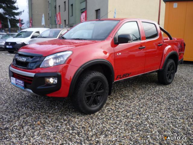 Prodám Isuzu D-Max 2,5 TD Fury Limited Twin turbo