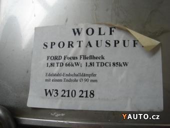 Prodám  Výfuk Wolf Ford Focus