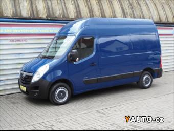 Prodám Opel Movano 2,3 CDTi L2H3, ČR, Klima, 1 Maj