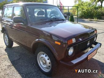 Prodám Lada Niva 1.7i 61 kW + LPG