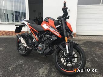 Prodám KTM DUKE 125 383 KM 06, 2018