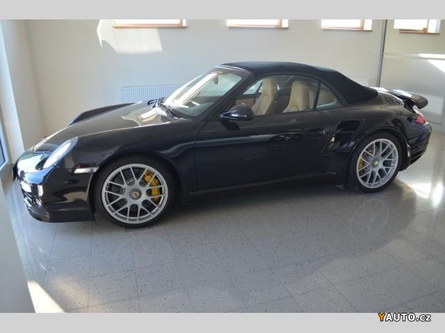 Prodám Porsche 911 TURBO S Cabrio EXCLUSIVE PAKET