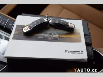 Prodám Porsche Panamera 3.0 Diesel +NOVÉ ČR+111tkm+