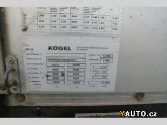 Prodám Kögel SN 24P 90 STANDART