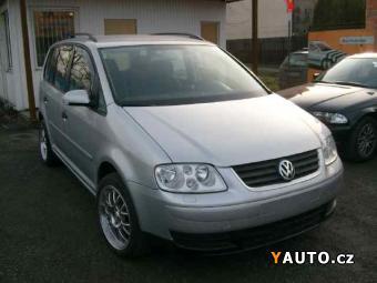 Prodám Volkswagen Touran 1.9 TDI 1. Majitel 7 Mist