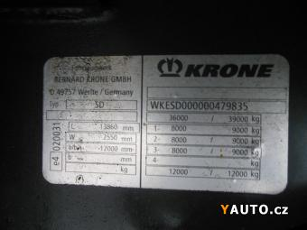 Prodám Krone LOWDECK, ZVEDAČKA, XL