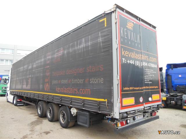 Prodám Kögel SN24, LowDeck, Zvedačka