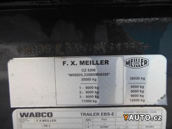 Prodám Meiller TR3, 49m3, 2xzvedací náprava