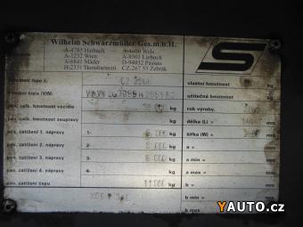 Prodám Schwarzmüller KOS T 3, E, CARRIER