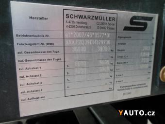 Prodám Schwarzmüller SPA 3, E, bočnice, shrnovačka